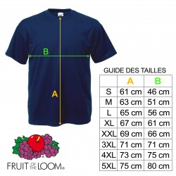 T-shirt Remember the Spirit of '69 - Rouge & Noir