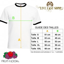 T-shirt Rock'n'Roll Born to Lose Live to Win