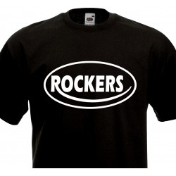 T-shirt Rock'n'Roll Wanna Shake my Baby Tonight - Navy