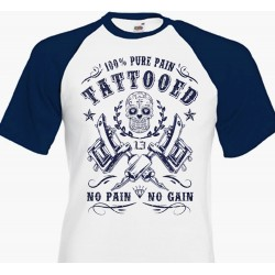 T-shirt Live Fast Shop Motorcycle Parts & Repairs - Beige