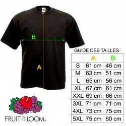 T-shirt 13 Devil - Bicolore rouge et blanc